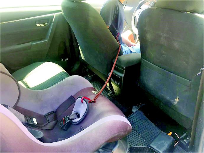פטנט לשכחת ילדים ברכב