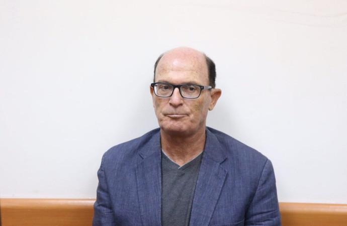 אבריאל בר יוסף בעת הדיון על הארכת המעצר