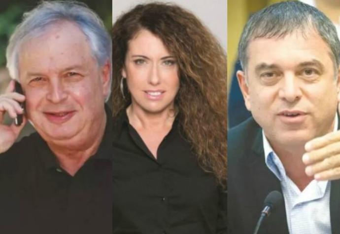 סטלה הנדלר, שאול אלוביץ' ושלמה פילבר