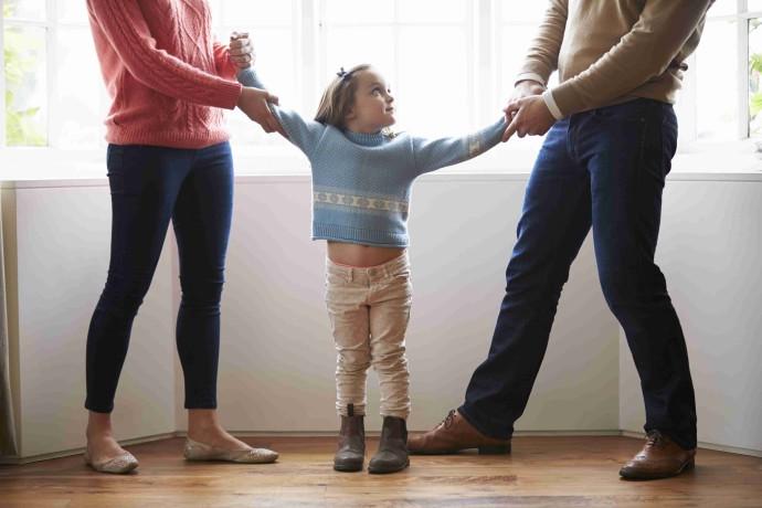הורים גרושים (אילוסטרציה)