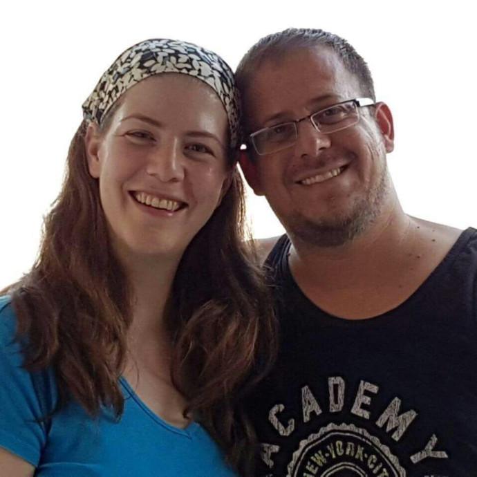 אלעד סלומון ואשתו מיכל
