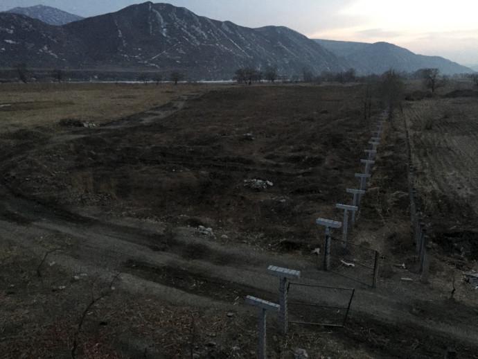 הגבול בין סין לקוריאה הצפונית