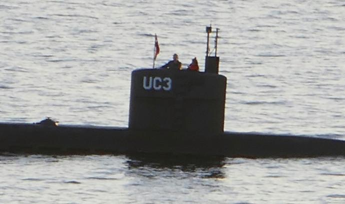 הצוללת בה נראתה בפעם האחרונה העיתונאית קים וול