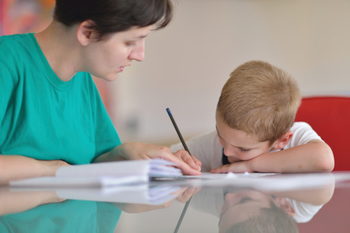 מורה ותלמיד, אילוסטרציה