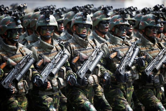 חיילים של קוריאה הצפונית