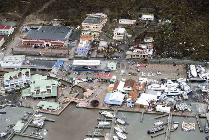 ההרס שהותיר הוריקן אירמה
