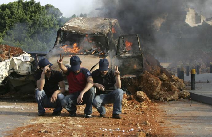 תומכי חיזבאללה בביירות, לבנון