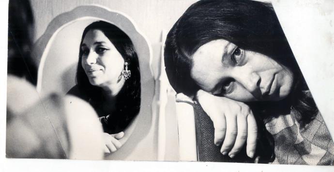 נעמי שמר שנת 1969 צילום אריה מייזלס
