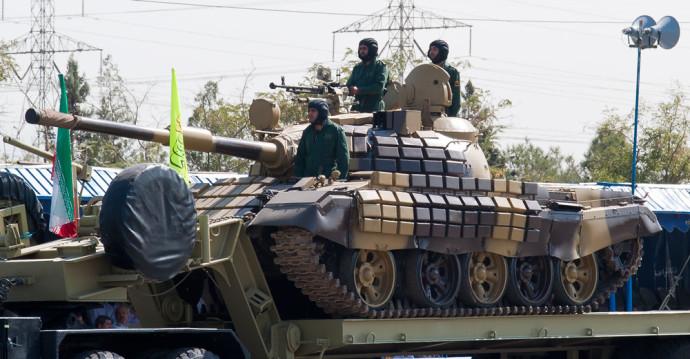טנק T-72 איראני