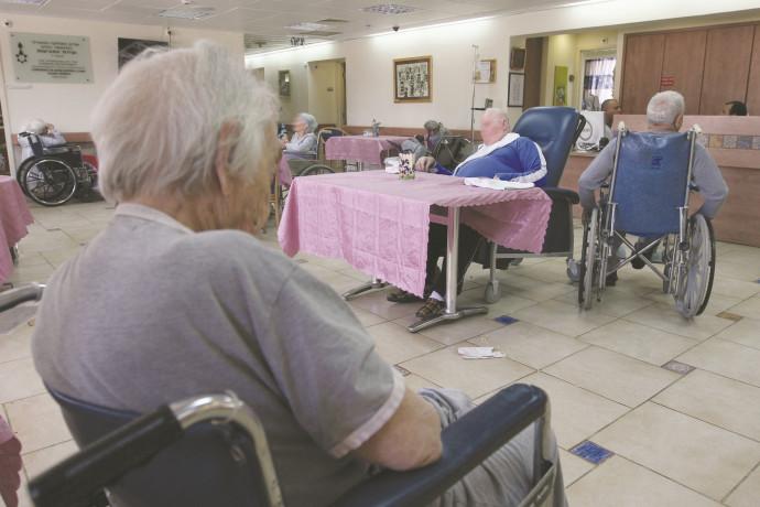 קשישים בבית אבות בירושלים