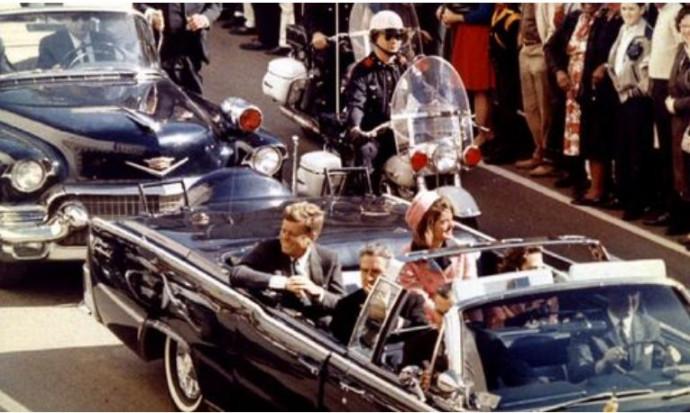 רגעים לפני ההתנקשות, רצח קנדי