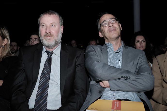 אביחי מנדלבליט (משמאל) ושי ניצן