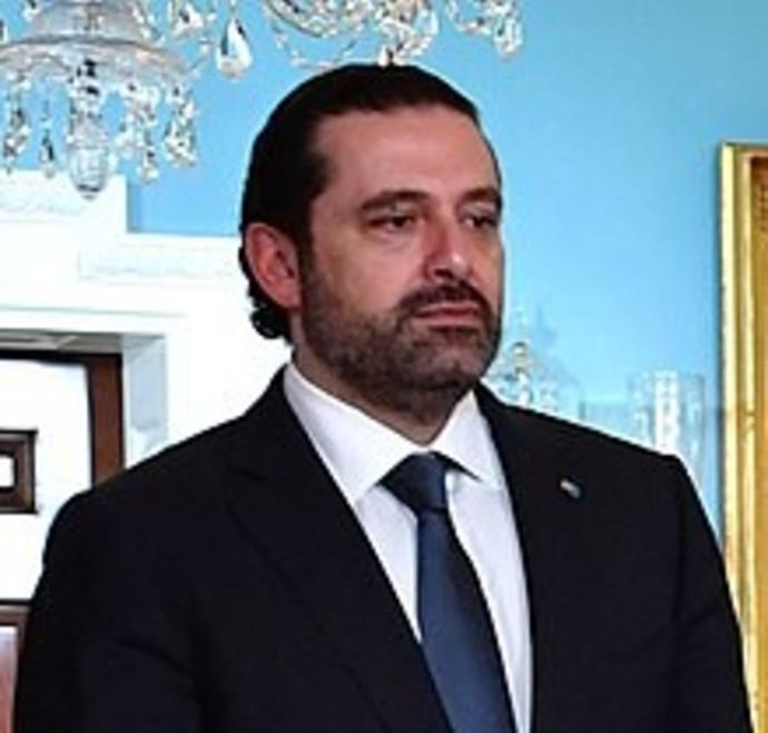 סעד אל חרירי, ראש ממשלת לבנון המתפטר