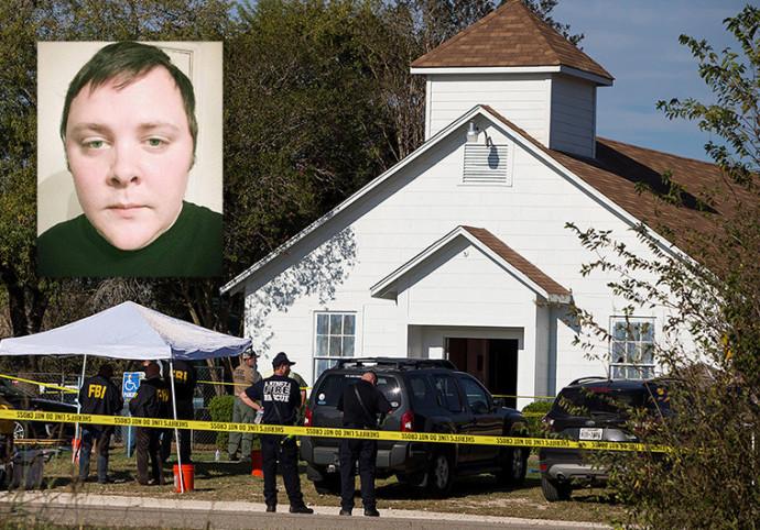 דווין פטריק קלי, הכנסייה בטקסס בה בוצע הירי