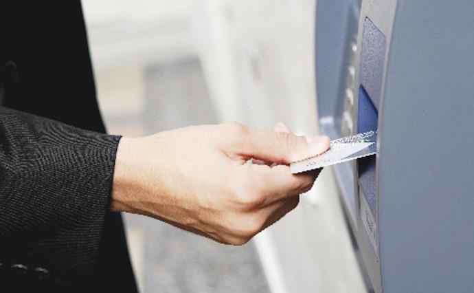 כרטיס אשראי, כספומט