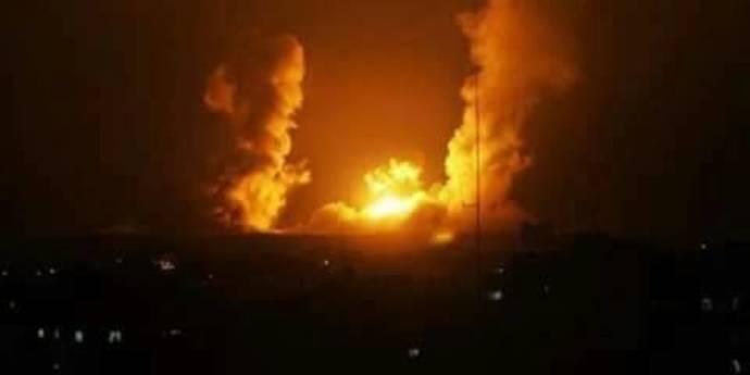 תקיפת בסיס סורי סמוך לדמשק