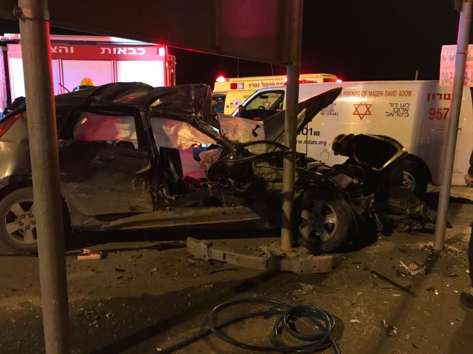 תאונת דרכים סמוך לבאקה אל גרבייה