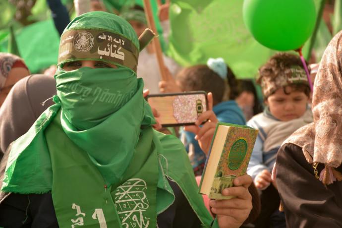 עצרת 30 שנה לארגון חמאס