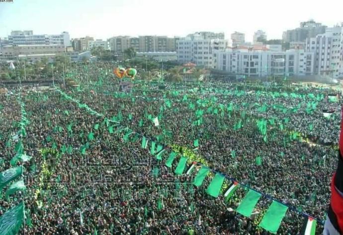 עצרת לציון 30 שנה לארגון חמאס