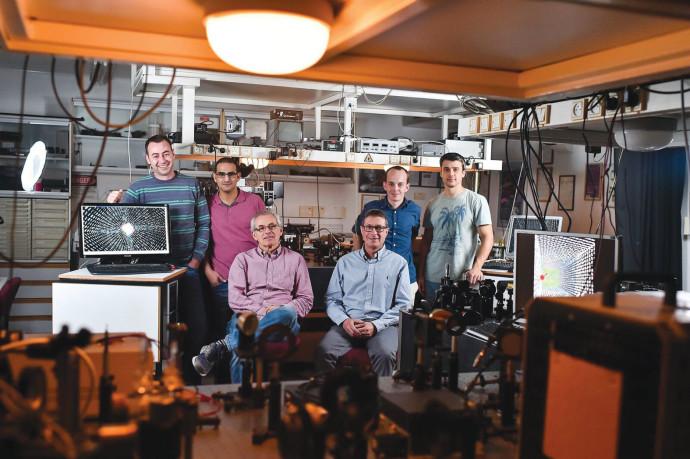 צוות המחקר מהטכניון