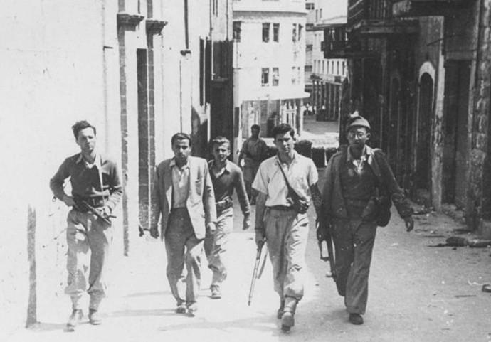 כיבוש חיפה מלחמת העצמאות צילום ארכיון צה''ל התמונה הופקדה עלידי מנשה מרטין
