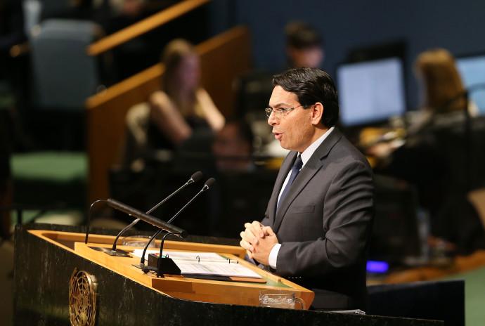 """דני דנון נואם בעצרת האו""""ם"""