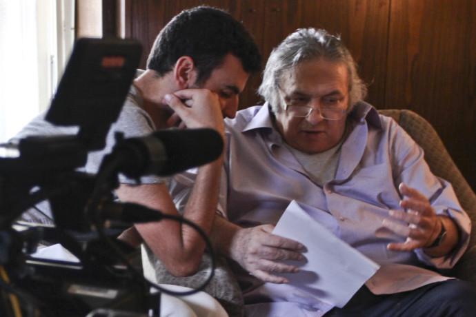 אסי דיין בצילומים לסרט סטודנטים, חודש לפני מותו