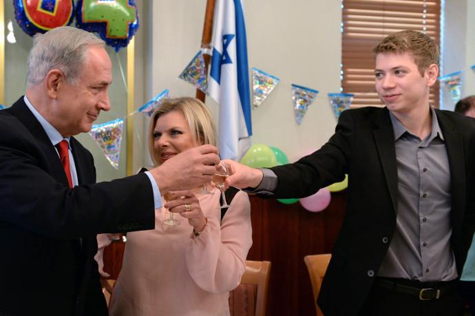 בנימין, יאיר ושרה נתניהו