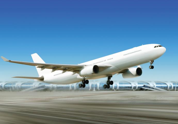מטוס ממריא, אילוסטרציה