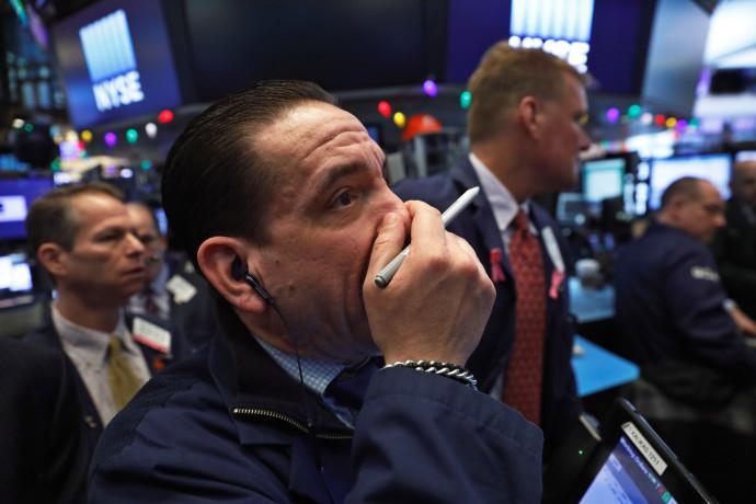 סוחר מניות בוול סטריט