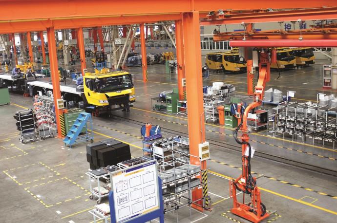 """מפעל בסין במסגרת הפרויקט """"חגורה אחת, דרך אחת"""""""