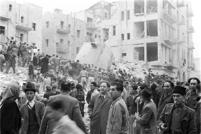 פיגוע ברחוב בן יהודה בירושלים, במהלך מלחמת העצמאות