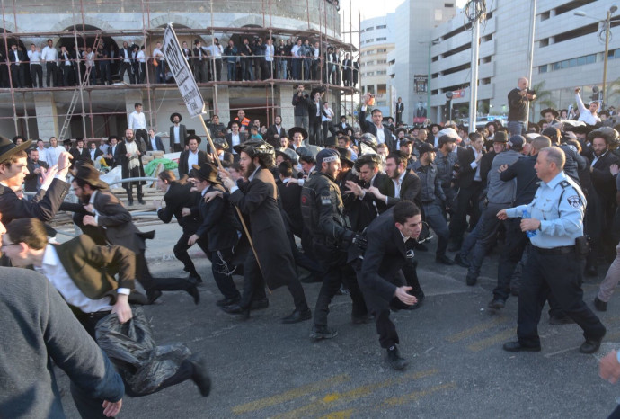 מחאת הפלג הירושלמי בבני ברק
