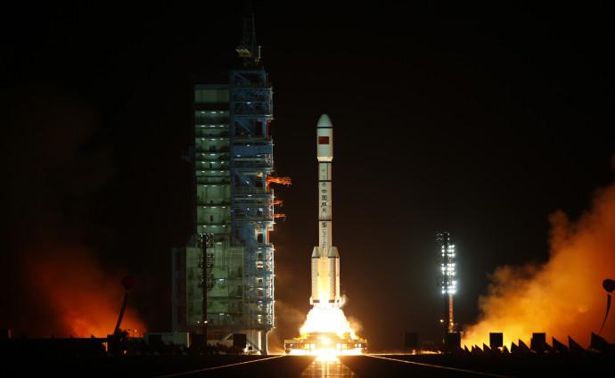 """שיגור תחנת החלל הסינית טיאנגונג-1"""""""