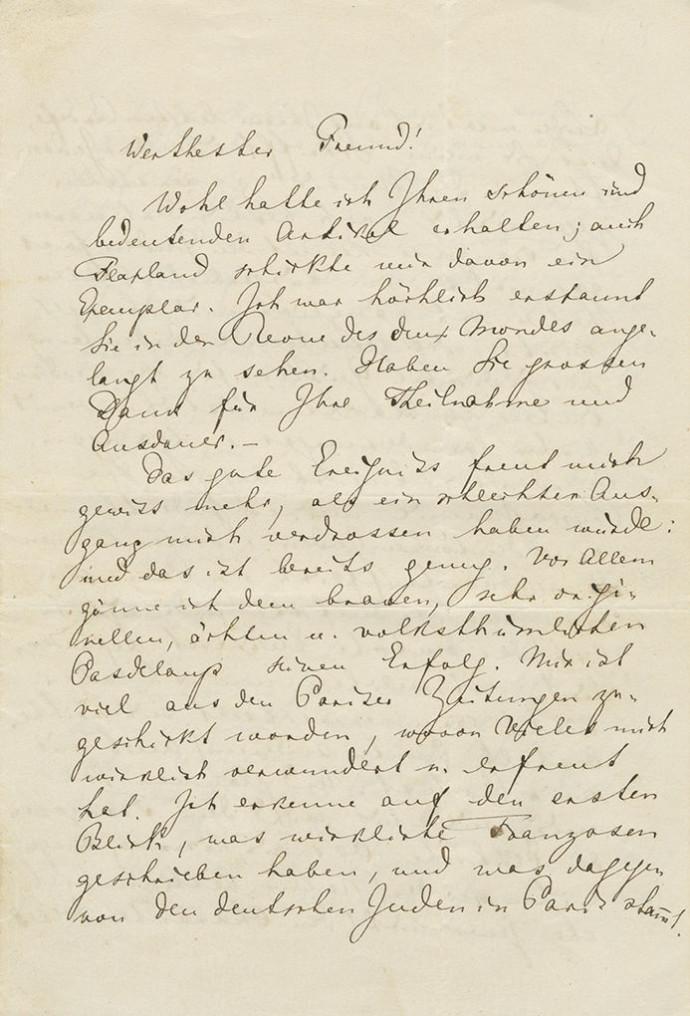 מכתבו של וגנר