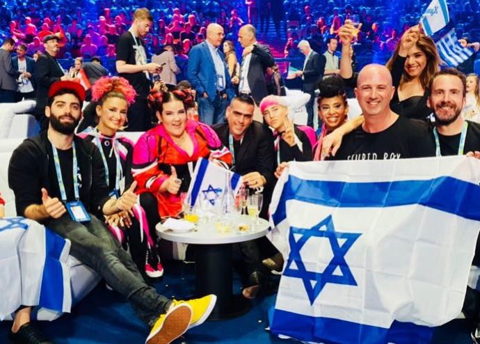 נטע ברזילי והמשלחת הישראלית