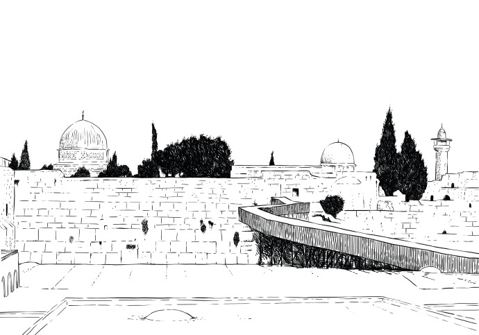 ירושלים, איור