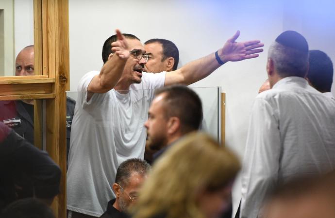 יצחק אברג'יל בבית המשפט