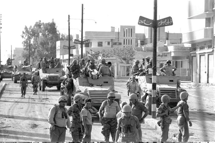 כיבוש עזה ב-1967