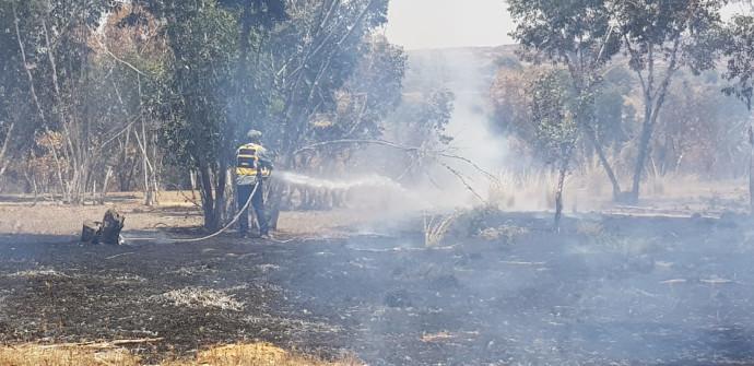 שריפות בדרום