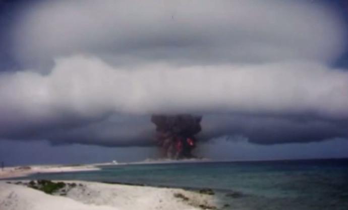 ניסוי בנשק גרעיני במהלך המלחמה הקרה