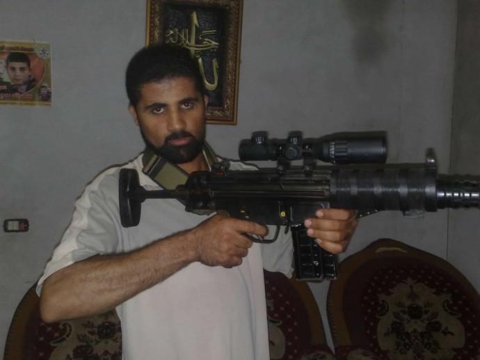 מנסור חסאן, מפקד יחידת הטילים של גדודי חללי אל אקצא, שנהרג בפיצוץ בעזה