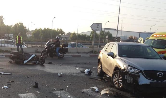 תאונת דרכים בגליל המערבי
