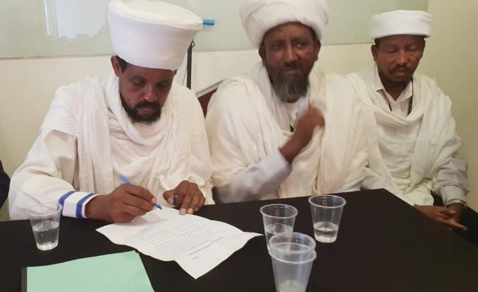 קייסים אתיופים חותמים על מכתב ישיר לנתניהו