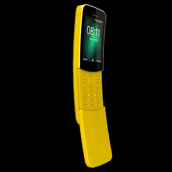 נוקיה 8110 בצבע צהוב