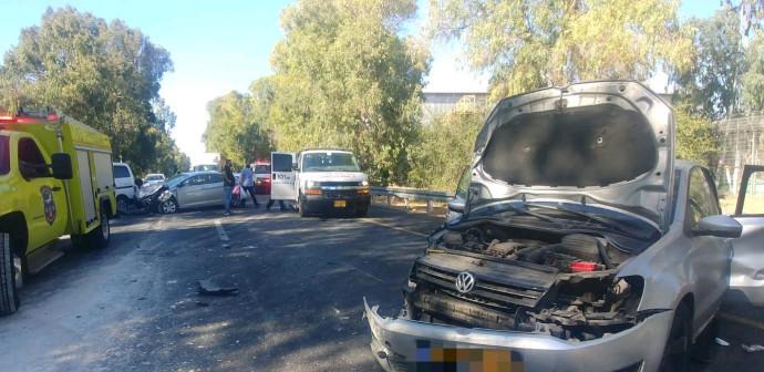 תאונת דרכים בכביש 40