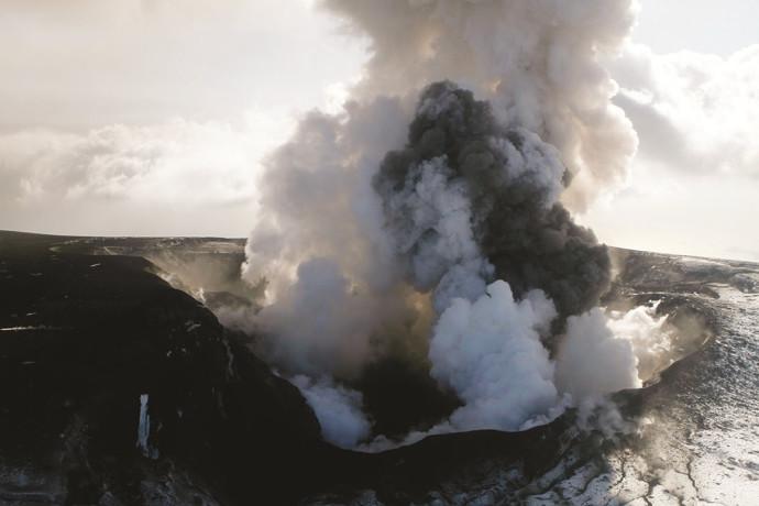 התפרצות הר געש באיסלנד ב-2010