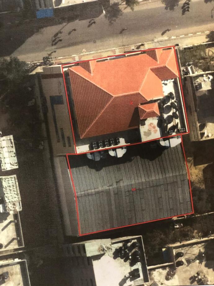 תחנת אל אקצא לפני ההפצצה