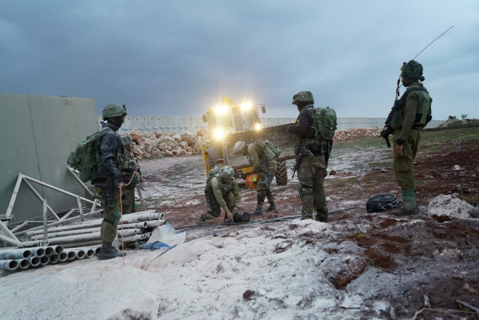 """חיילי צה""""ל במבצע מגן צפוני"""