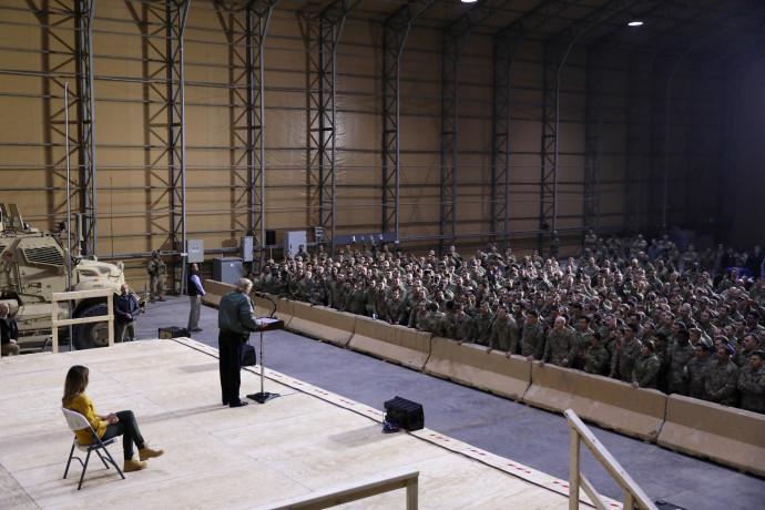דונלד טראמפ בעיראק